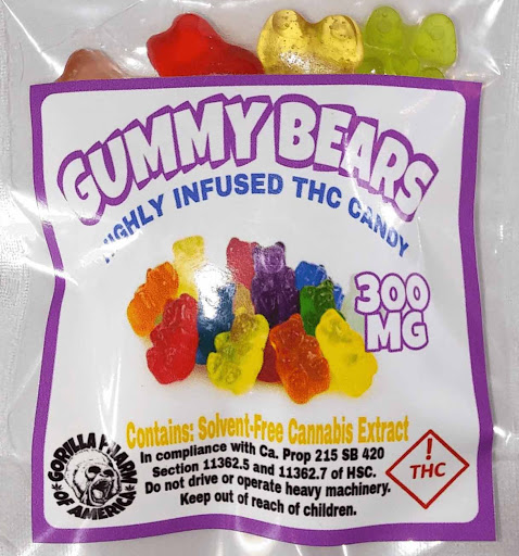 Buy Bears Edibles